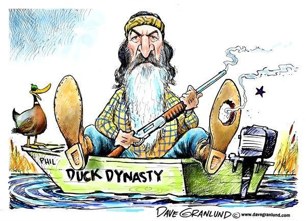 cartoons political Duck dynasty