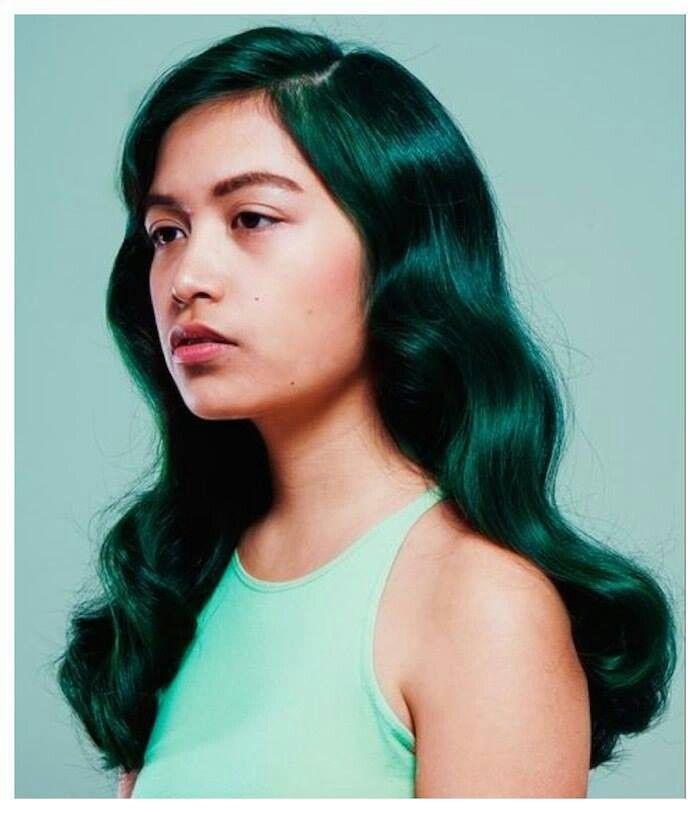 Jade Green Hair Color Hair Colour Pinterest Hair Hair