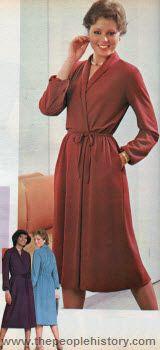 Marlene's Dinner Dress 3 Super Suede Wrap Dress 1979