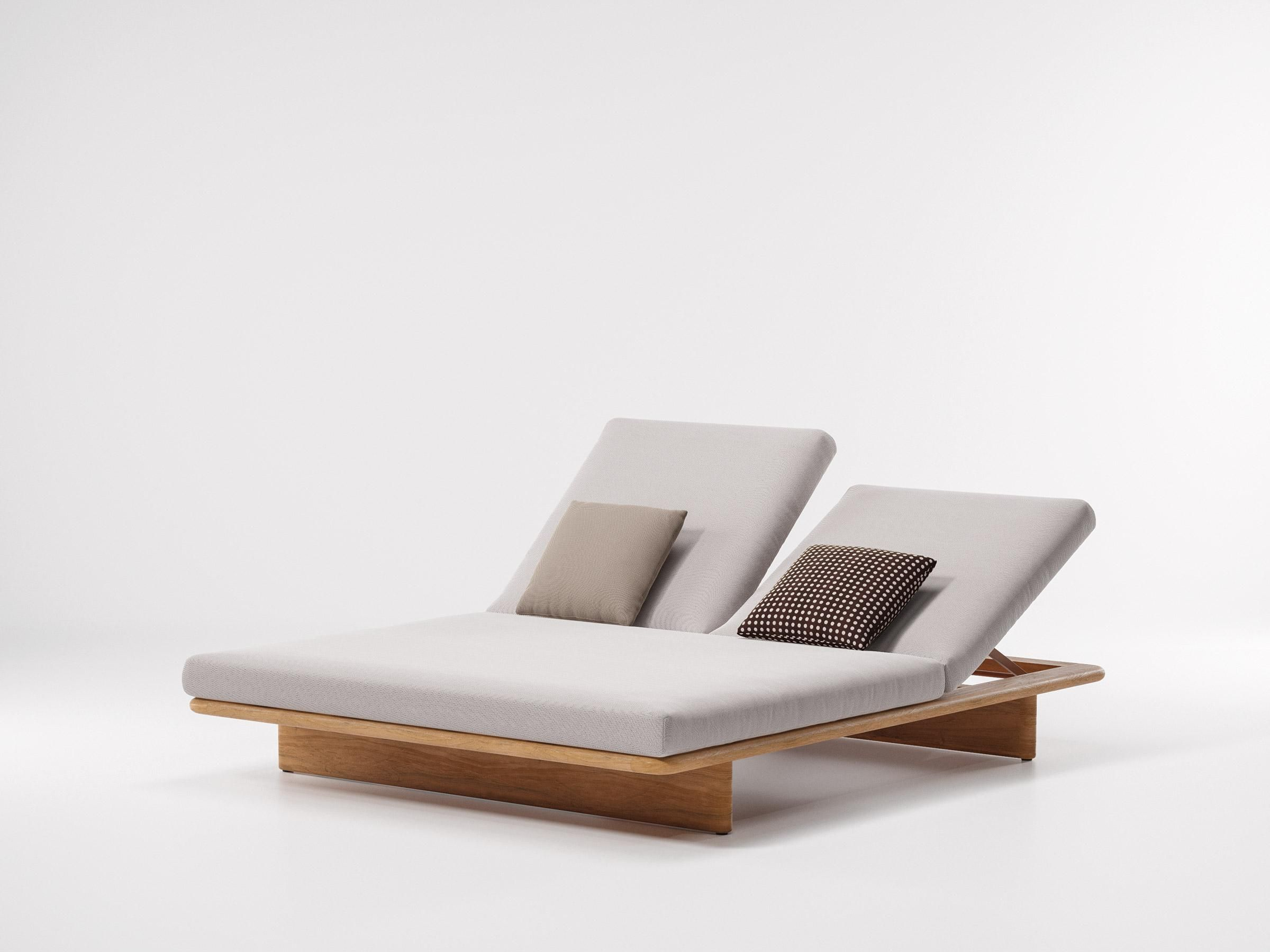 Kettal Mesh Two Place Deck Chair