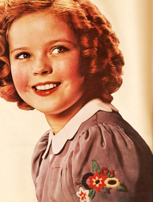 Shirley Temple Curly Weird Hair Temple Shirly Temple Child