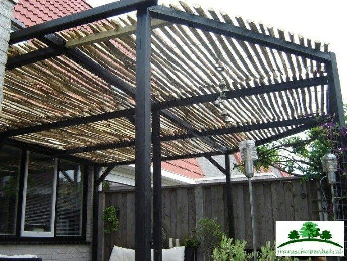 Schapenhek op pergola tuin pinterest verandas pergolas and arbors trellis - Overdekte patio pergola ...