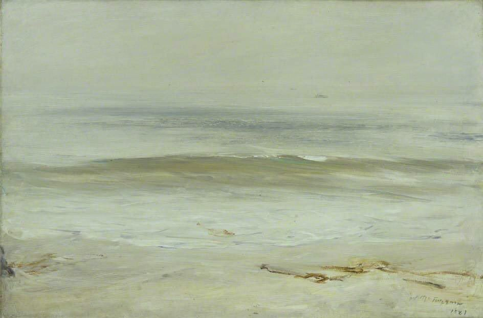 William McTaggart(1835ー1910)「The Wave」(1881)