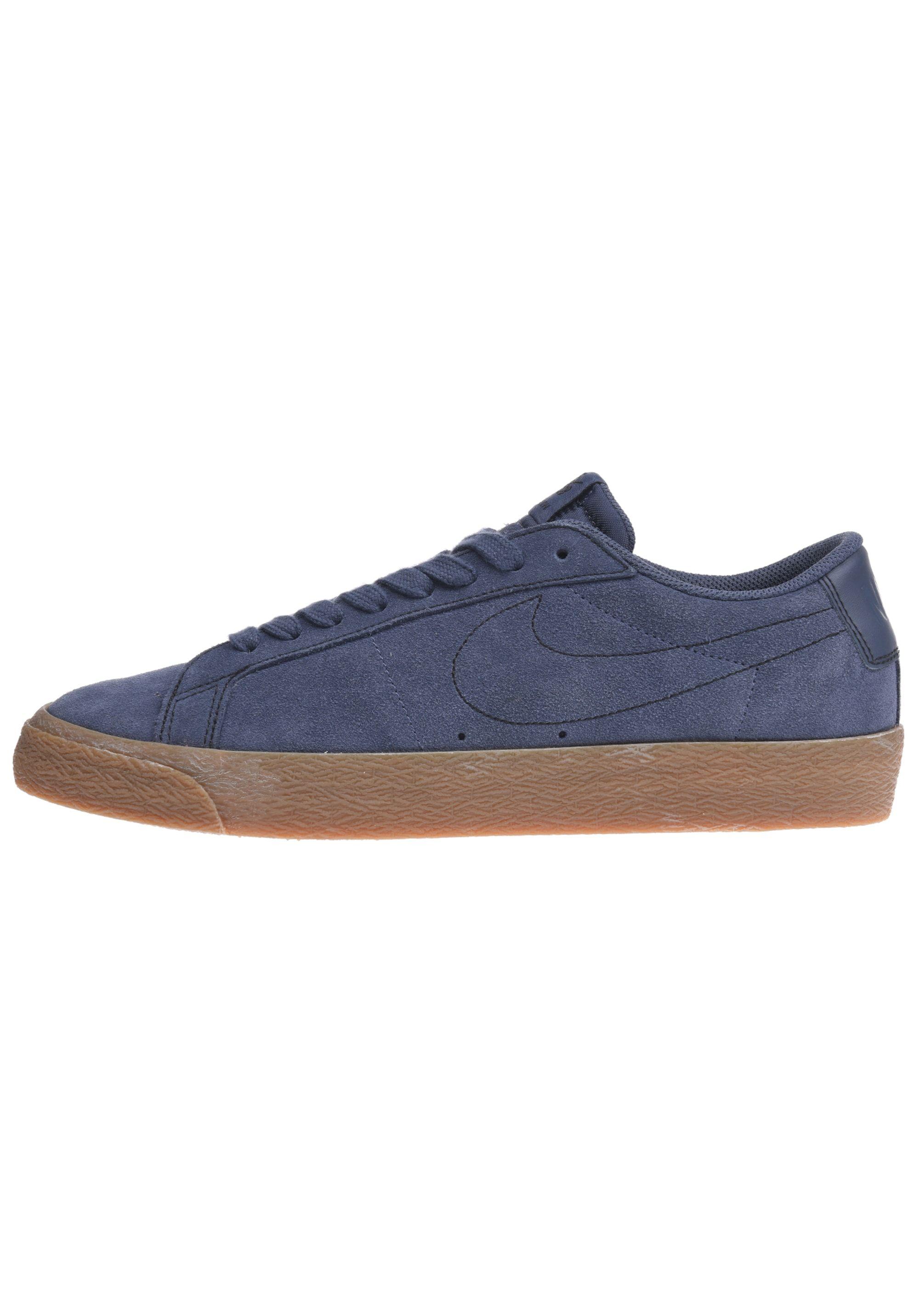 Low blau00888411185000 Herren Blazer NIKE Sneaker Zoom FlJTc51uK3