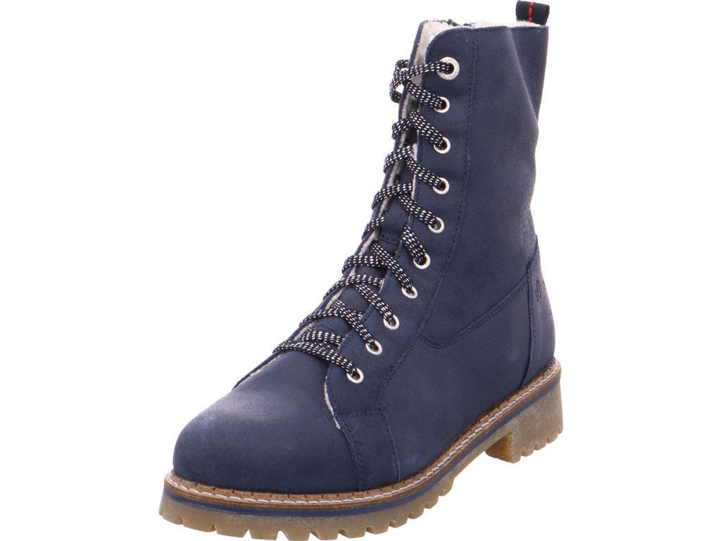 Winter Stiefel | Rieker Damen Winter Stiefeletten Blau