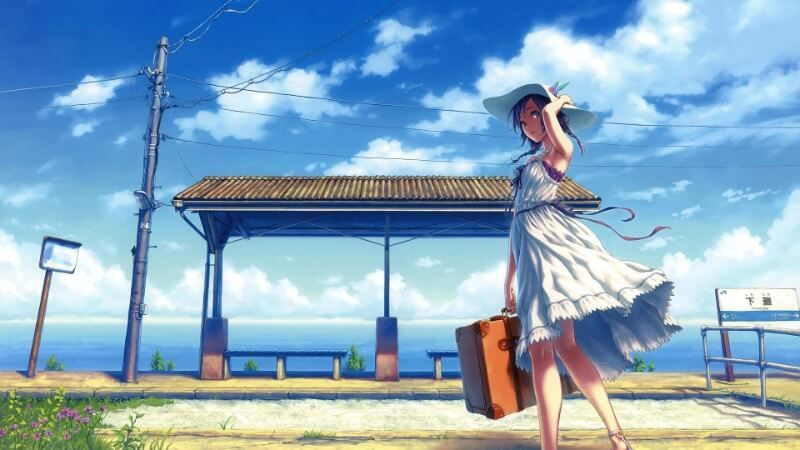 5 Anime Shows To Watch During Your Summer Vacation Summervacationdrawing Anime Summer Sky Anime Anime Scenery
