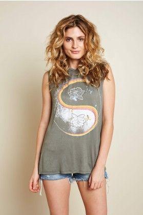 580c3d71cecc Lotus Yin Yang Shirt with Hood - Earthbound Trading Co. | Fashion ...