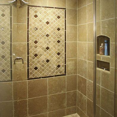 tile + metallic + mosaic bathroom design ideas, pictures