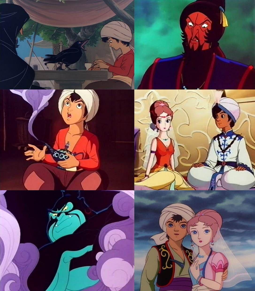 Uma Noite Em Mais De Mil Disney Desenhos Desenhos Japoneses
