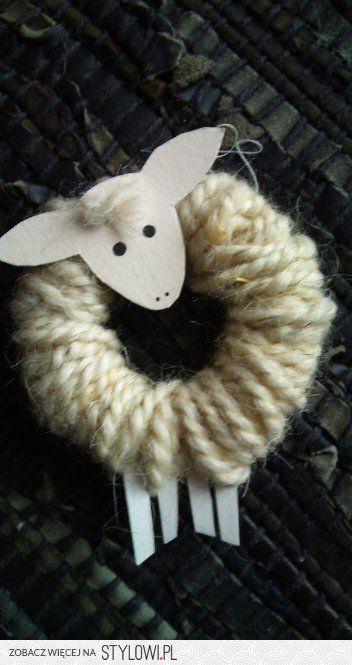 Lamb ornament; how sweet! Must make!!!
