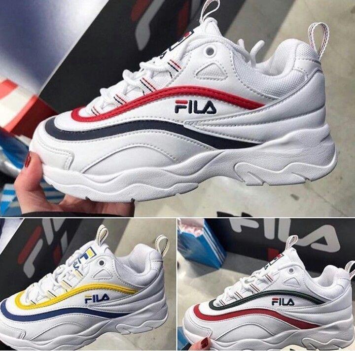 701865468de4 Fila  YellowShoesWomens Fila Outfit, Shoes Nike Adidas, Sneakers Fashion,  Shoes Sneakers,