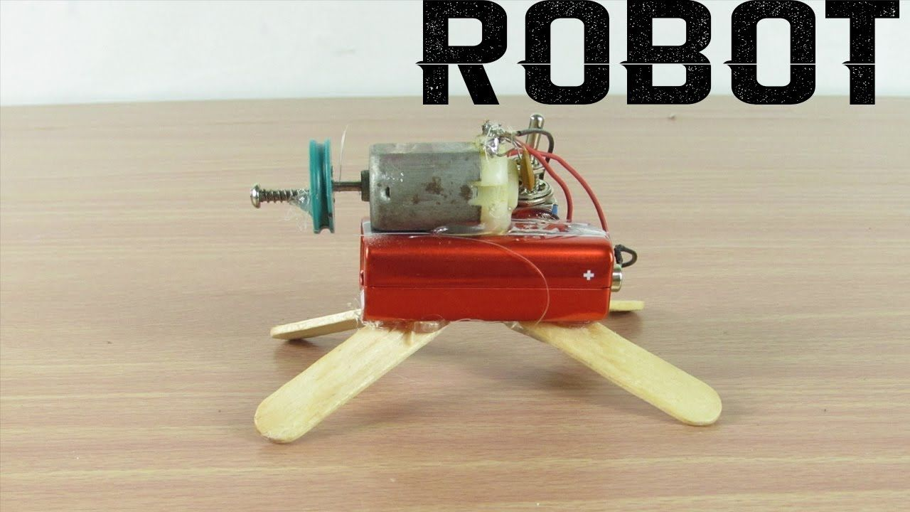 Como hacer un robot casero en 3 minutos  Hecho En Casa