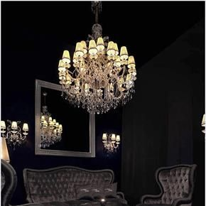 Amber Venetian Chandelier by Murano Glass Lighting