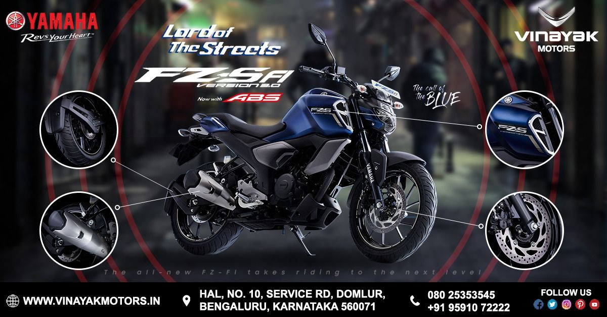 The All New Yamaha Fz Sfi Version 3 0 Redefing Performance Now