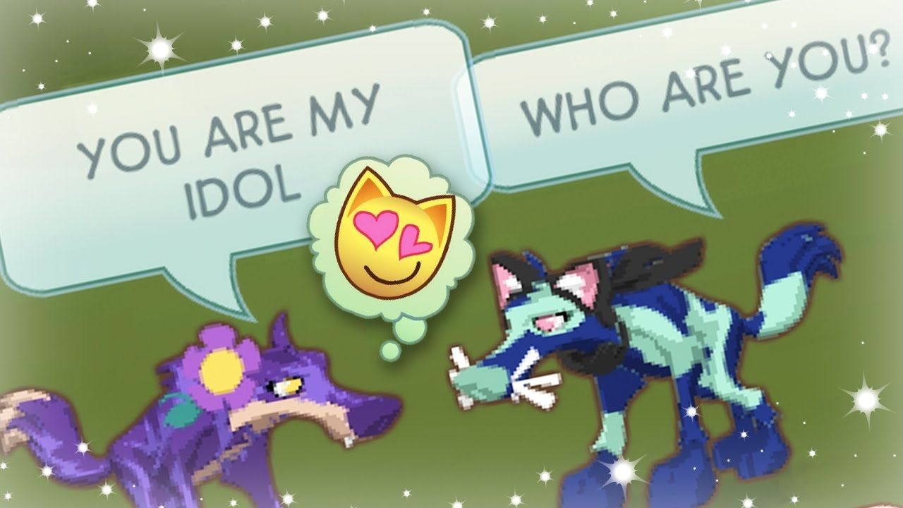 FANGIRLING OVER STRANGERS IN ANIMAL JAM Animal jam