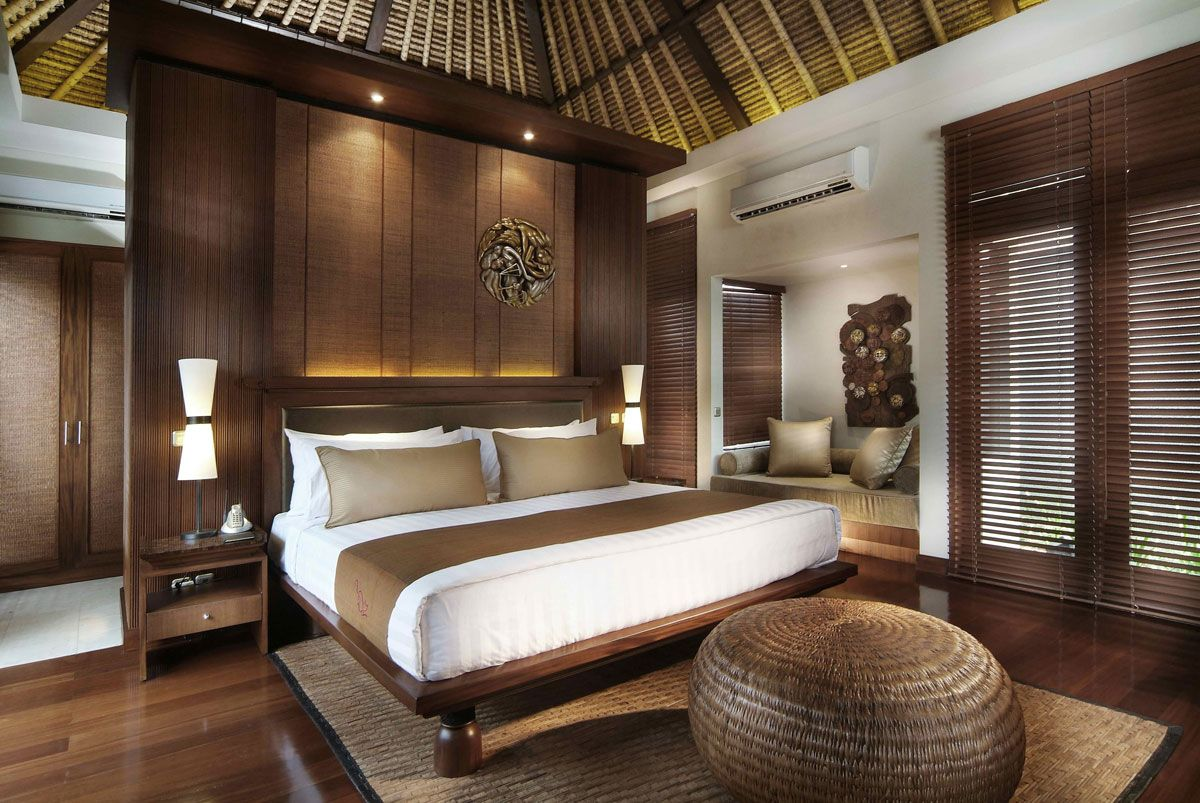 Bedrooms Exotic Bali Indonesia Asian Style Bedroom