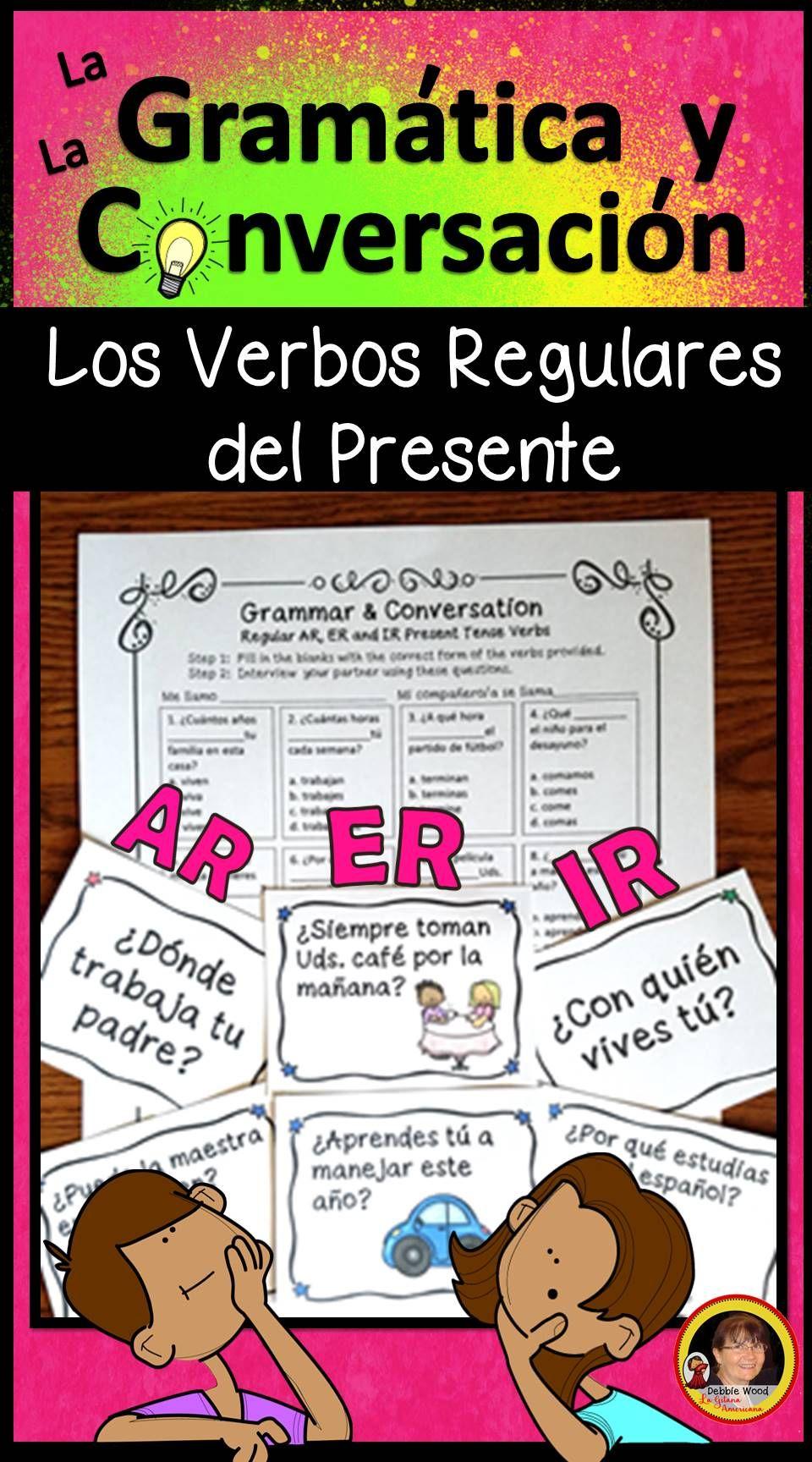 Spanish Present Tense Verbs Spanish Grammar And Conversation Present Tense Verbs Spanish Grammar How To Speak Spanish [ 1728 x 960 Pixel ]