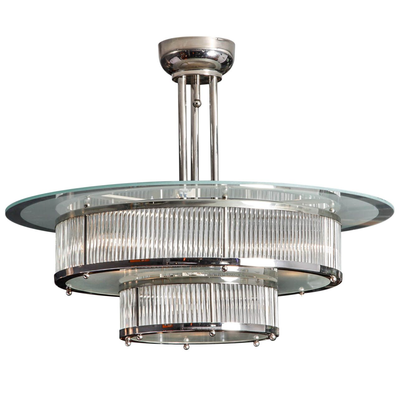 Art deco chandelier france 1930 art deco pinterest candelabros iluminaci n y decoraci n - Art deco decoracion ...