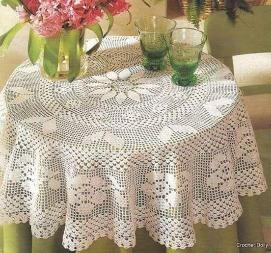 Home Decor Crochet Patterns Part 96
