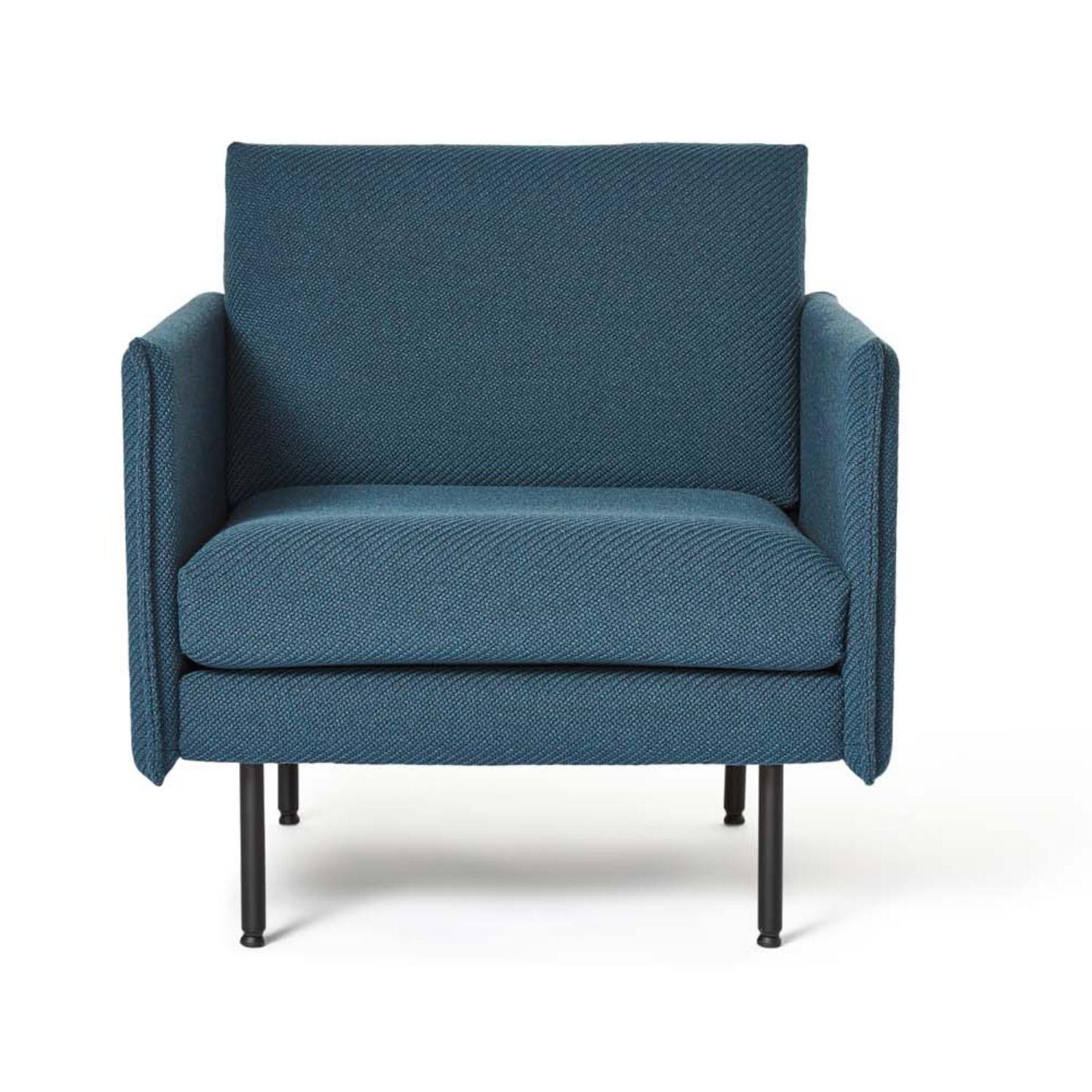 Form 1 Seater Lounge Chair Workspace Design Danish Furniture