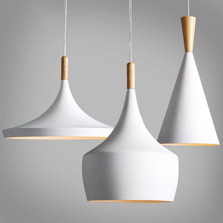 Modern Wood Metal Light Chandelier Pendant Lighting Ceiling Fixture ...