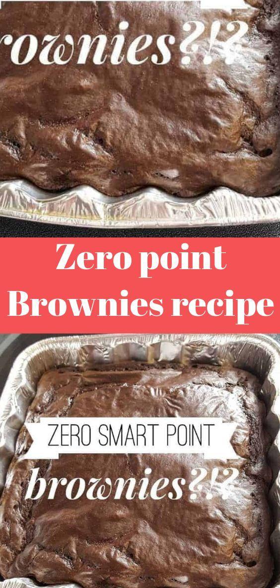 Zero point Brownies recipe