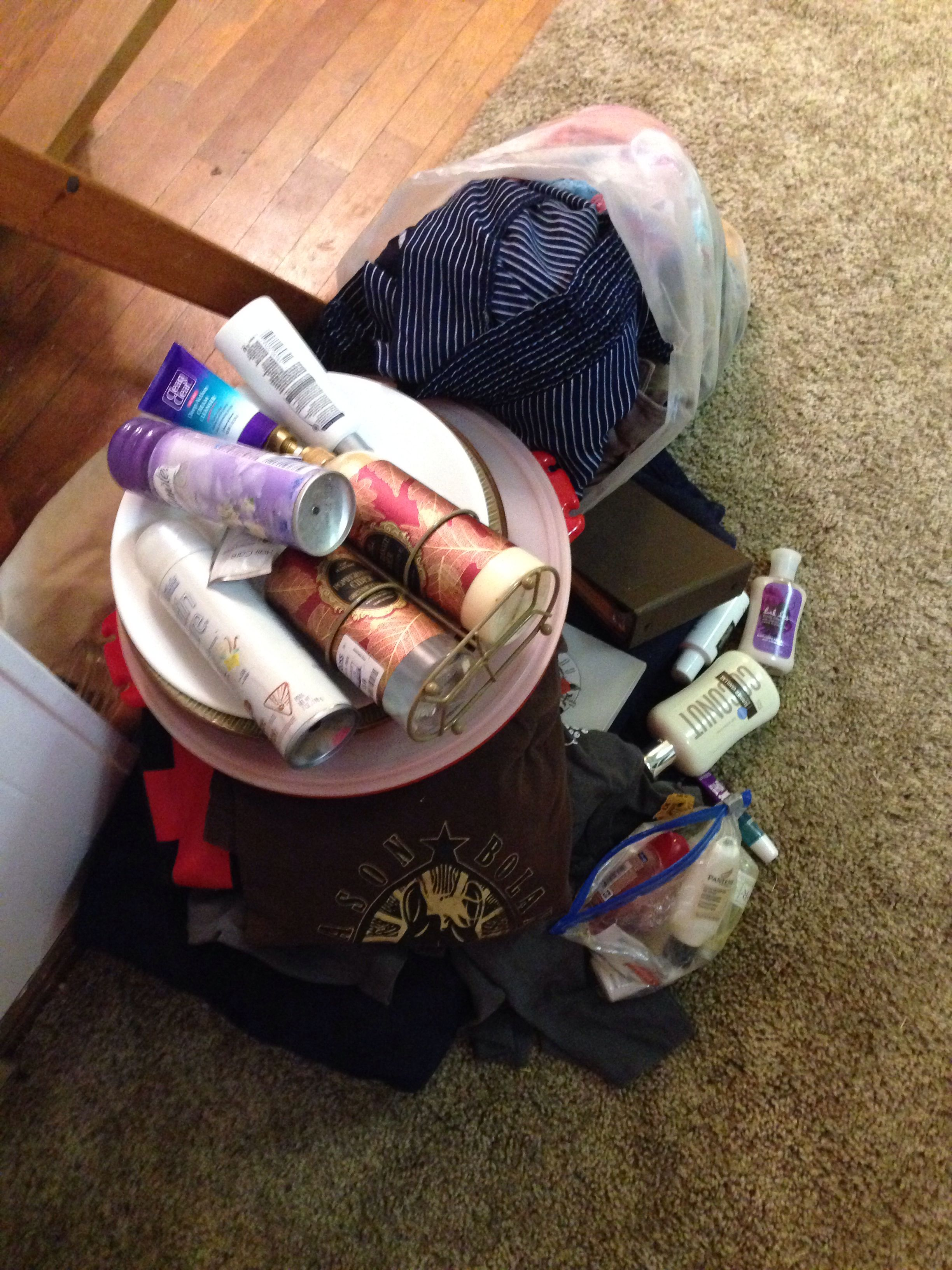 3/11/2014 - Bye bye, excess! #40bagsin40days