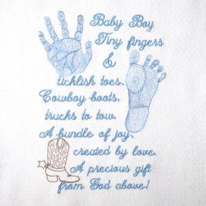 Short Poems For New Baby Baby Boy Prints Poem 5x7 Baby