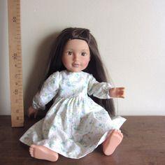 Chemise de nuit manches longues compatible poupée journey girls  toys r us   et designafriend  45 cm