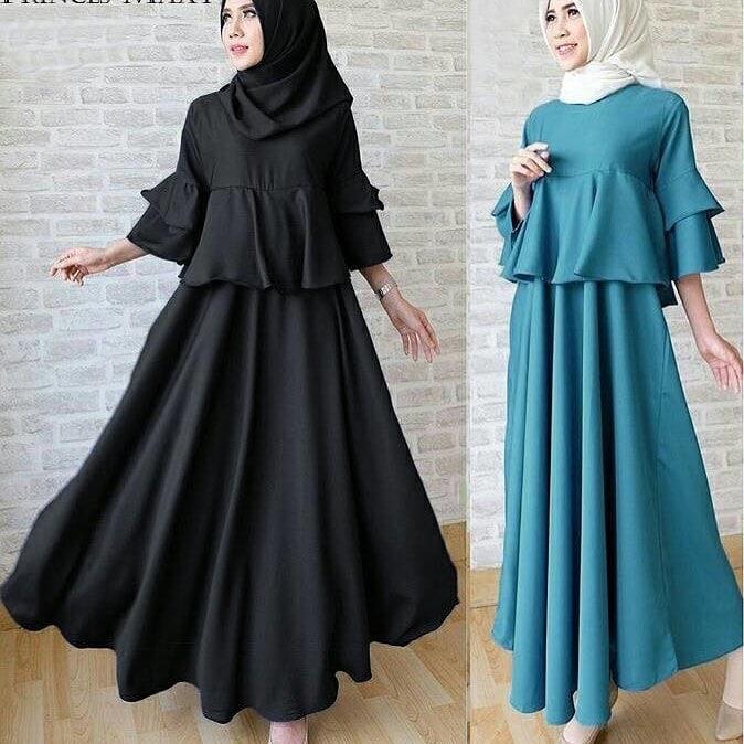 Baju Pakaian Wanita Hijabers Gamis Dress Princess Maxy Http Bit Ly 2uvg21e Untuk Info Dan Order S Pakaian Wanita Model Pakaian Hijab Model Baju Wanita