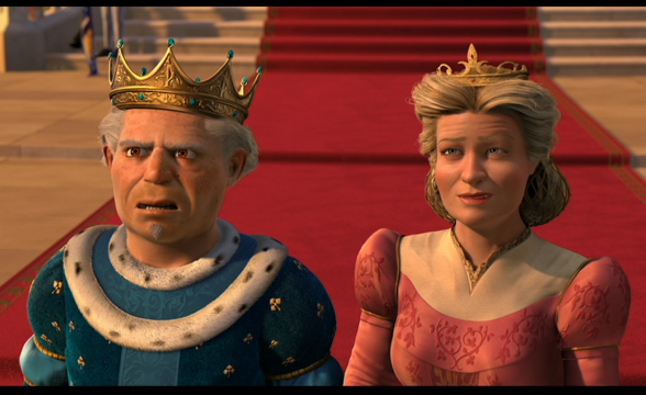 King Harold And Queen Lillian Fiona S Parents From Shrek Forever After Shrek Good Animated Movies Dreamworks Animation
