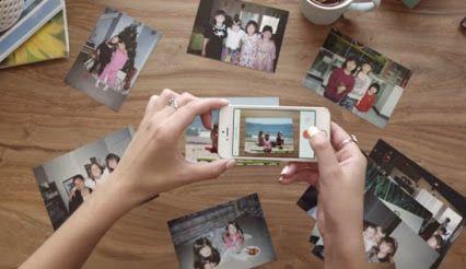 Una app para digitalizar las fotos de carretes. Herloom