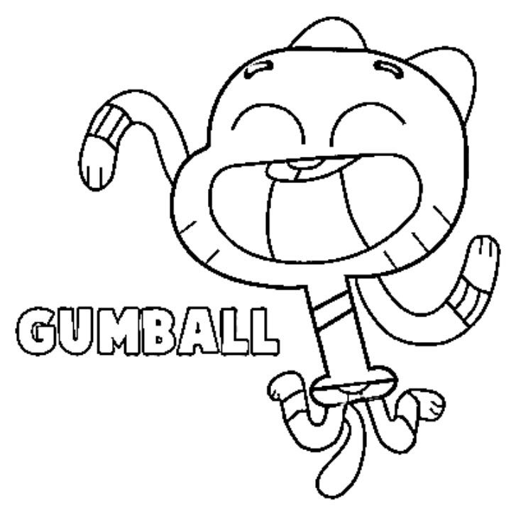 amazing spiez coloring pages | time to drawing gumball watersoon^^
