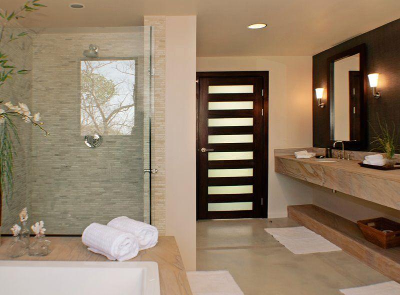 Badezimmer Luxus ~ Schiefer mustang fliesen so wird aus einem badezimmer im