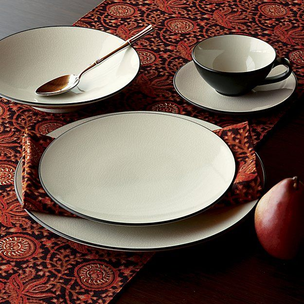 Kita 16-Piece Dinnerware Set | Crate and Barrel
