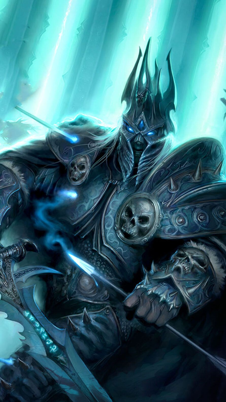 Wrath Of The Lich King Hd Wallpaper In 2020 World Of Warcraft