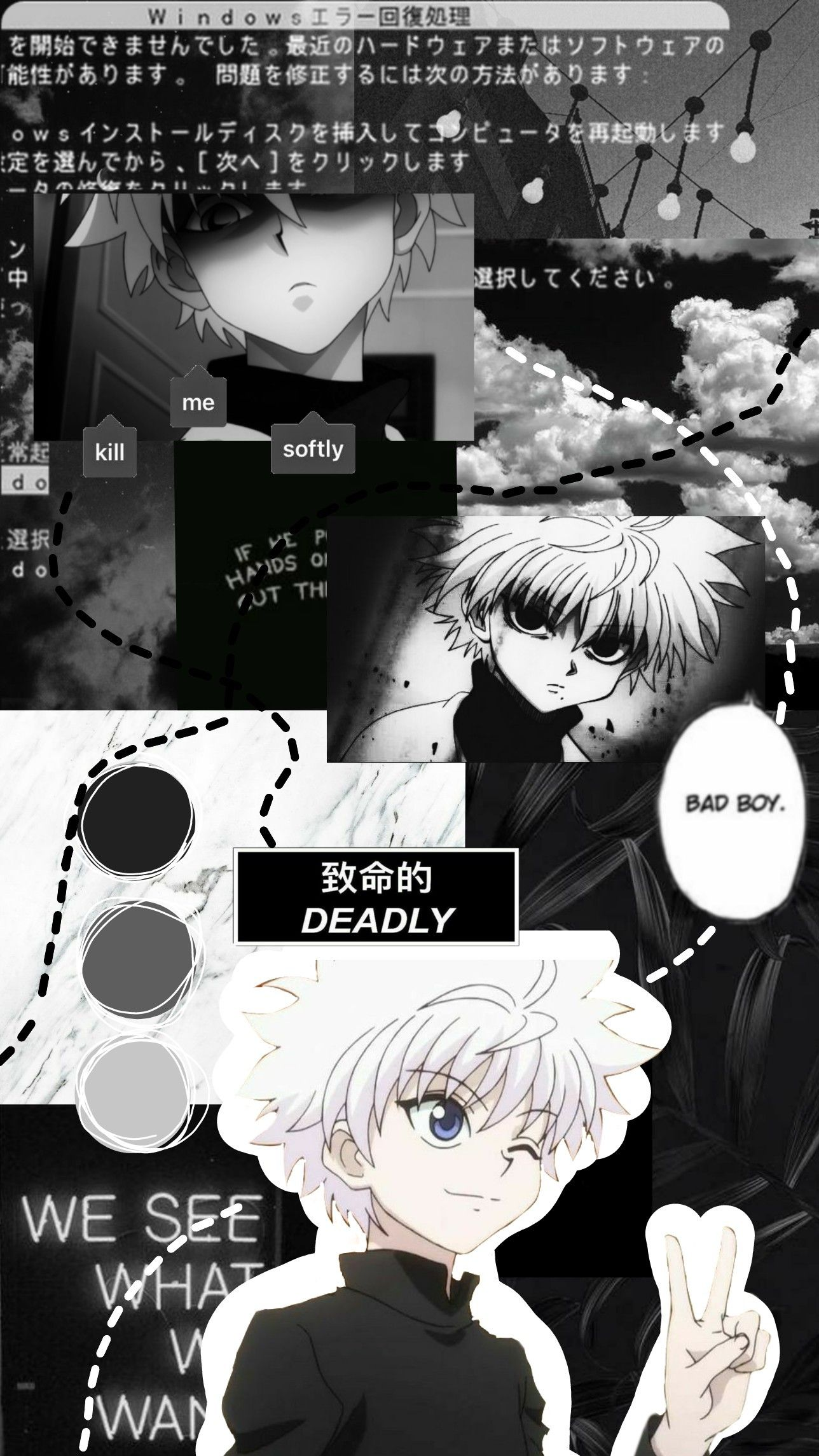 Killua Wallpaper Anime Wallpaper Anime Wallpaper Iphone Anime Backgrounds Wallpapers
