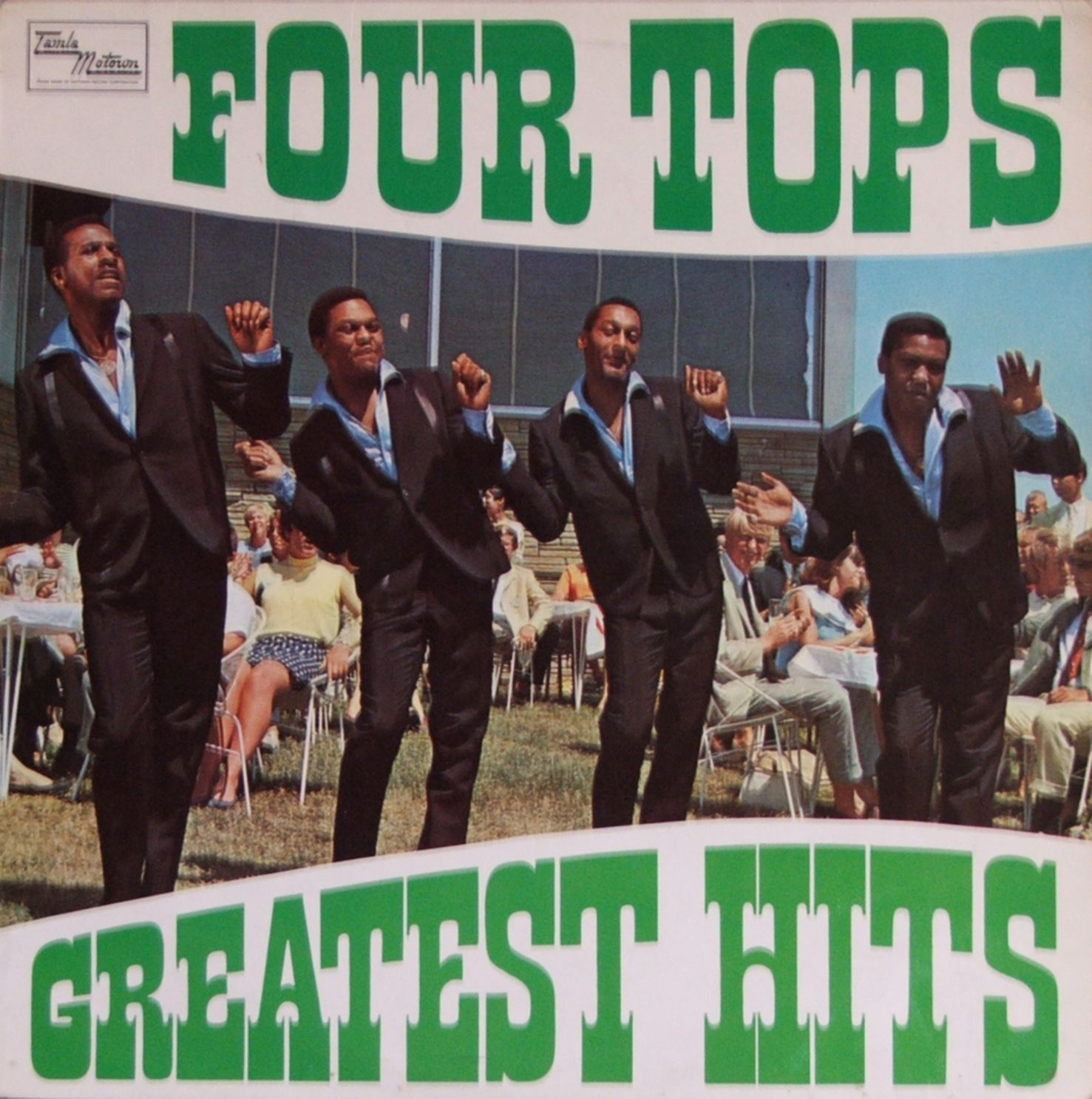 The Four Tops First Time I Saw Them Was At The Coconut