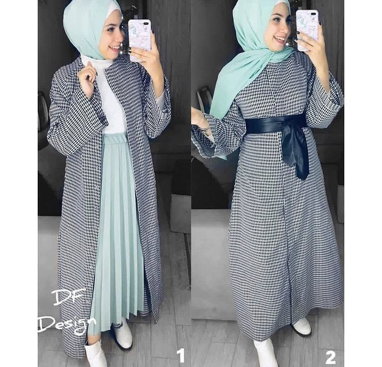 Hijab Fashion Muslim Women Hijab Fashion ملابس محجبات جيبات فساتين لبس كل يوم كاجوال عباية بناتي Style Fashion Hijab