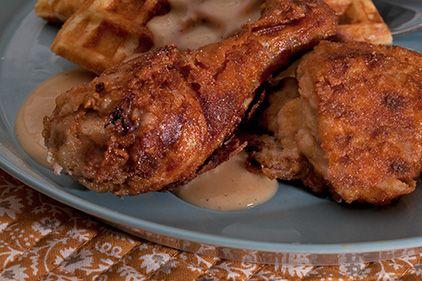 Southern Fried Chicken with Buttermilk Gravy
