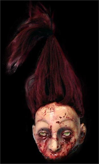 Half-Gone Severed Head Halloween Decoration Halloween Pinterest