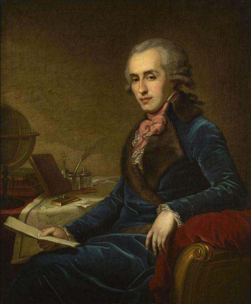Портрет светлейшего князя Платона Александровича Зубова за письменным столом. Между 1792 и 1796: