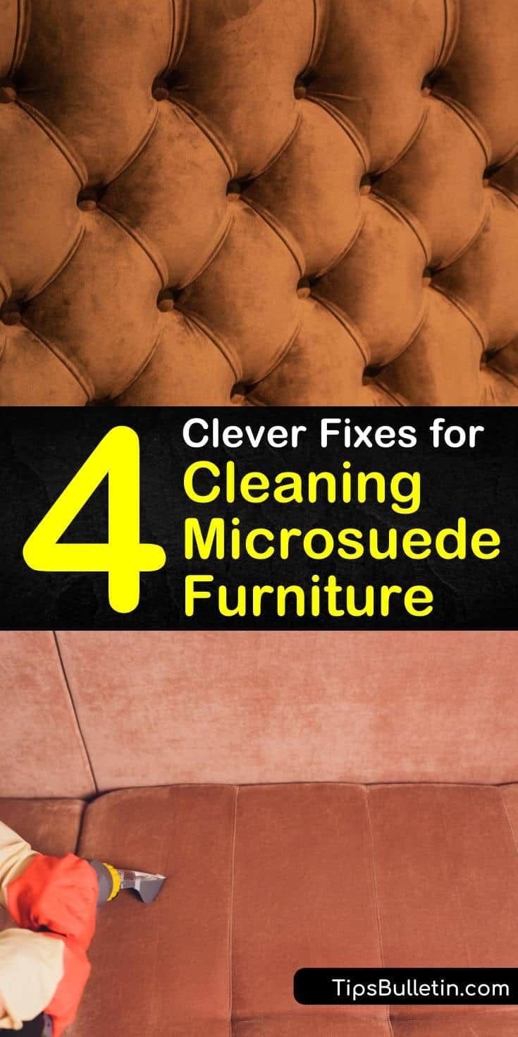how to clean suede couch stain