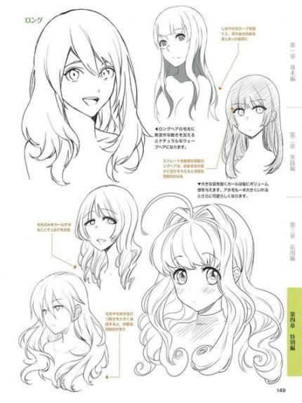 New how to draw hair tutorial faces 37 Ideas