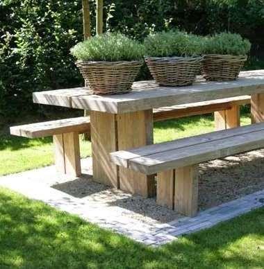 DESCANSO VISUAL Gardens, Patio table and Patios