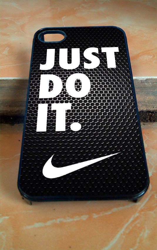 premium selection a1e74 08245 Nike Just Do It for iphone 4 4s 5 5c 5s 6 samsung by usircantik
