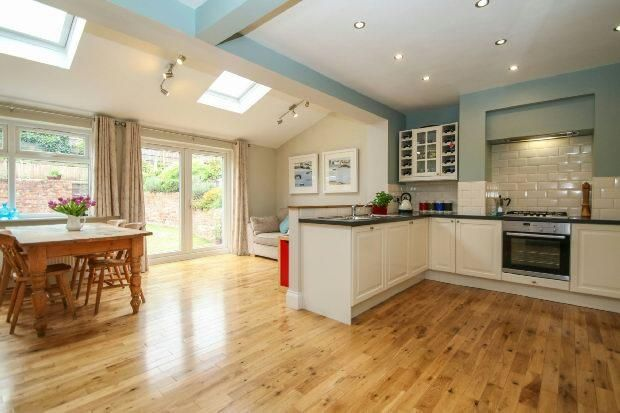 Family Room And Dini Nappali In 2019 Kitchen Family Rooms Open