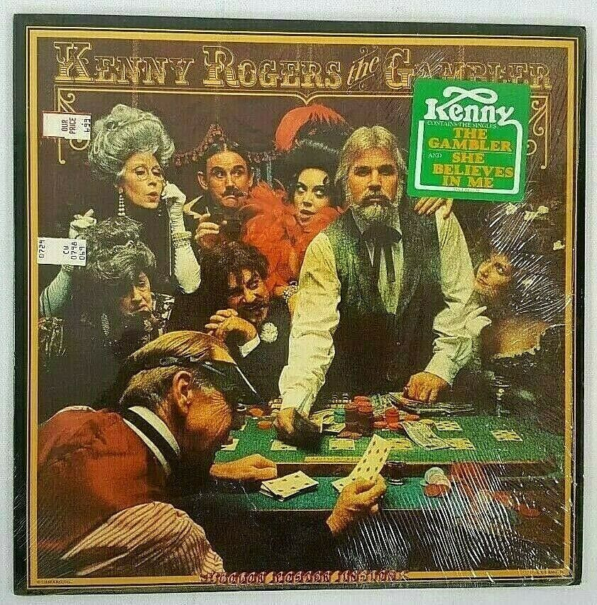 The Gambler Album by Kenny Rogers LP | Wounded warrior ...