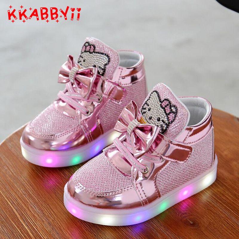 chaussure adidas lumineuse enfant garcon