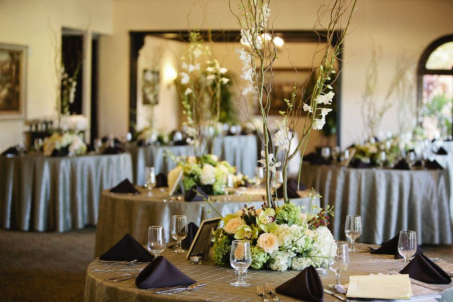 Rustic Elegant Wedding Centerpiece